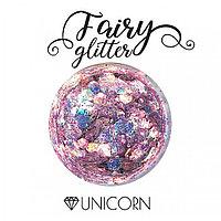Декоративные хлопья Fairy Glitter, Unicorn, 15гр.