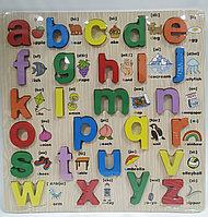 Рамка-вкладыш - Английский Алфавит,, 30х30 см