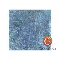 Бумага для скрапбукинга Голубой пергамент
