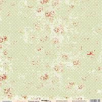 Лист - Нежные цветы из коллекции Карамель