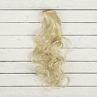 Волосы для кукол Кудри-белый цветок, 40 см.
