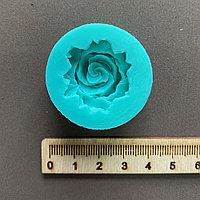 Силиконовый молд Роза объемная, 3,5 см.