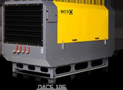 Передвижной винтовой компрессор DACS 10S, фото 2