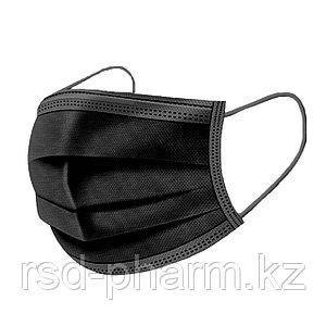 Трехслойные маски с резинкой и металлической вставкой от UNEX medical products