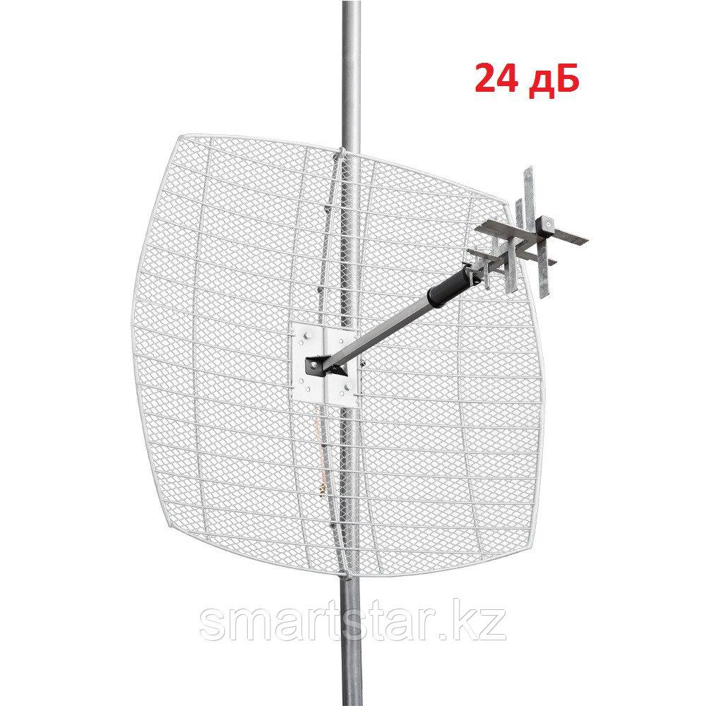 Параболическая MIMO антенна 24 дБ, сборная KNA24-800/2700C