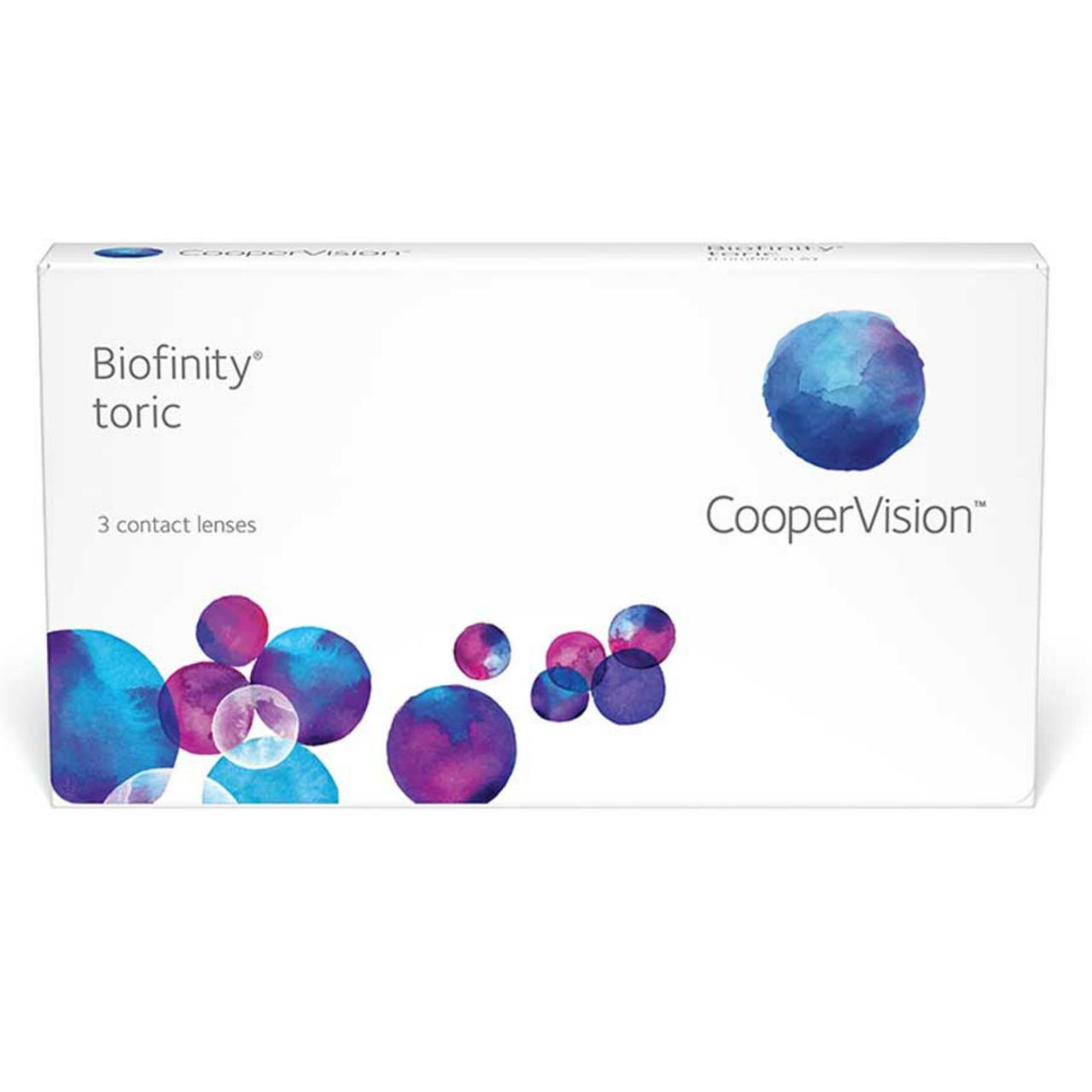 Контактные линзы Cooper Vision Biofinity Toric
