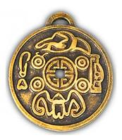 Амулет монета для богатства