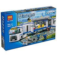 Bela Urban 10420 Конструктор Выездной пункт полиции, 394 дет. (Аналог LEGO 60044)