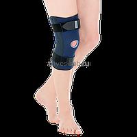 Бандаж компрессионный на коленный сустав Evolution, неразъемный