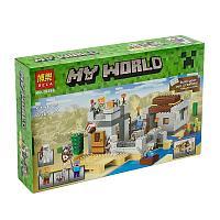 Bela My World 10392 Конструктор Пустынная станция, 519 дет. (Аналог LEGO 21121)