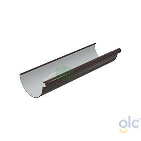 Желоб 152 GLC водосточный (коричневый)