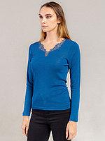 Cогревающая женская футболка с длинным рукавом 1/59/35030
