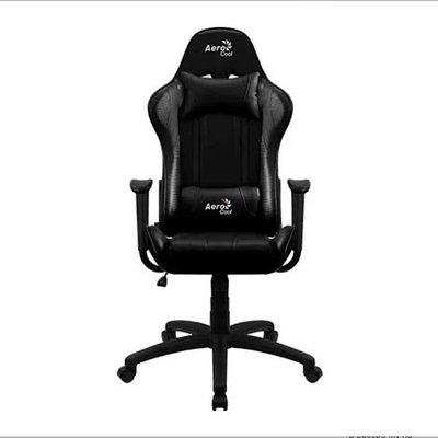 Кресло игровое компьютерное Aerocool AC100 AIR-B черный