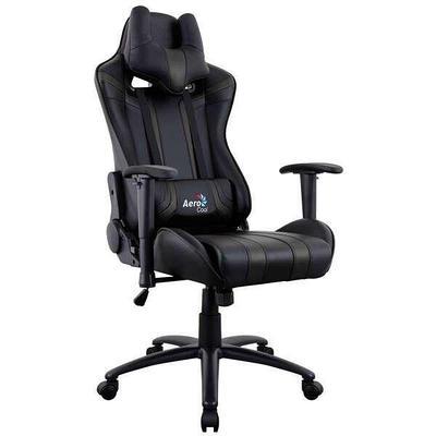 Кресло игровое компьютерное Aerocool AC120 AIR-B черный