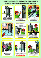 Обучения по промышленной безопасности при эксплуатации оборудования, работающего под давлением