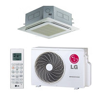 Кассетный кондиционер LG Ultra Inverter R32 CT18R / UU18WR