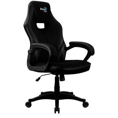 Кресло игровое компьютерное Aerocool Aero 2 Alpha черный