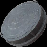 Люк чугунный ТИП С с шарниром и запорным устройством (до 12,5 тонн)