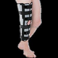 Бандаж для полной фиксации коленного сустава ( Тутор) высота - 60см