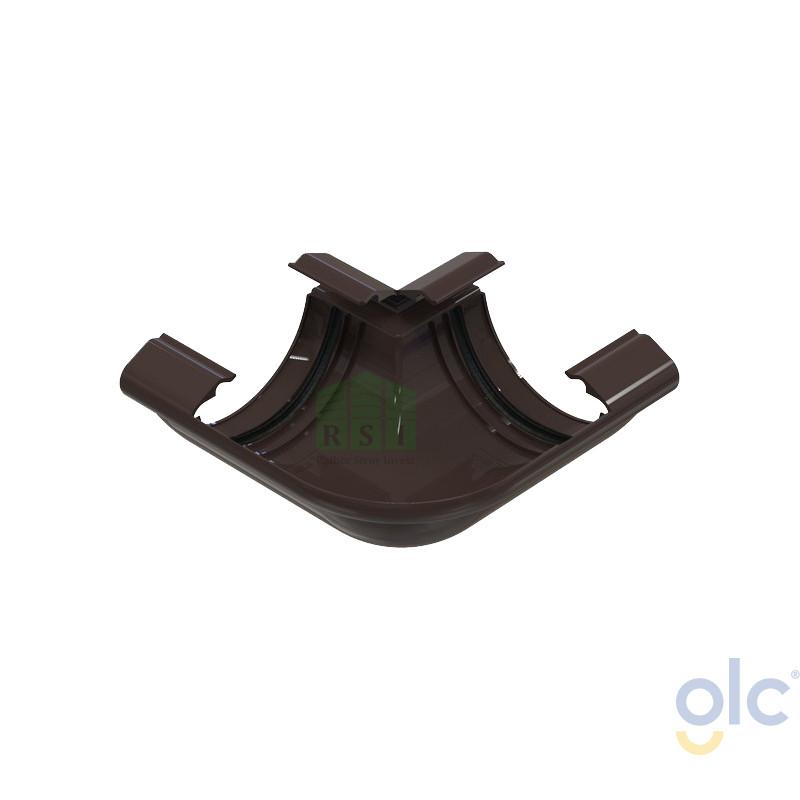 Угол желоба 90° GLC (универсальный, коричневый)