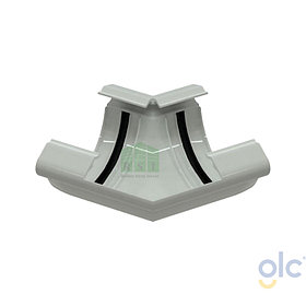 Угол желоба 135° GLC (универсальный, белый)