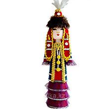 Сувенир кукла  Алия в национальном костюме