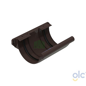 Муфта желоба соединительная GLC (коричневая)
