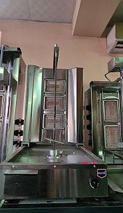 Донер аппарат газовый с нижним мотором