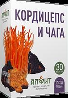 """Концентрат на растительном сырье """"Кордицепс и чага"""", 30 капсул по 430 мг."""