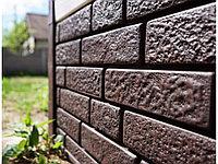 Сайдинг Ю-пласт КИРПИЧ коричневый Stonе-House