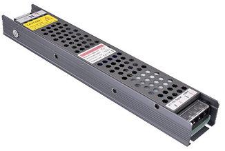 Блок питания 400W(33.3А) для светодиодной ленты (узкий) DC12V, IP20, без вентилятора, LUX
