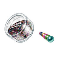 RuNail, дизайн для ногтей: бульонки 0320 (разноцветный)