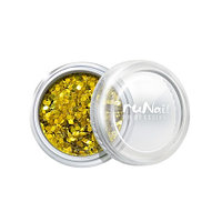 RuNail, дизайн для ногтей: конфетти (золотой)