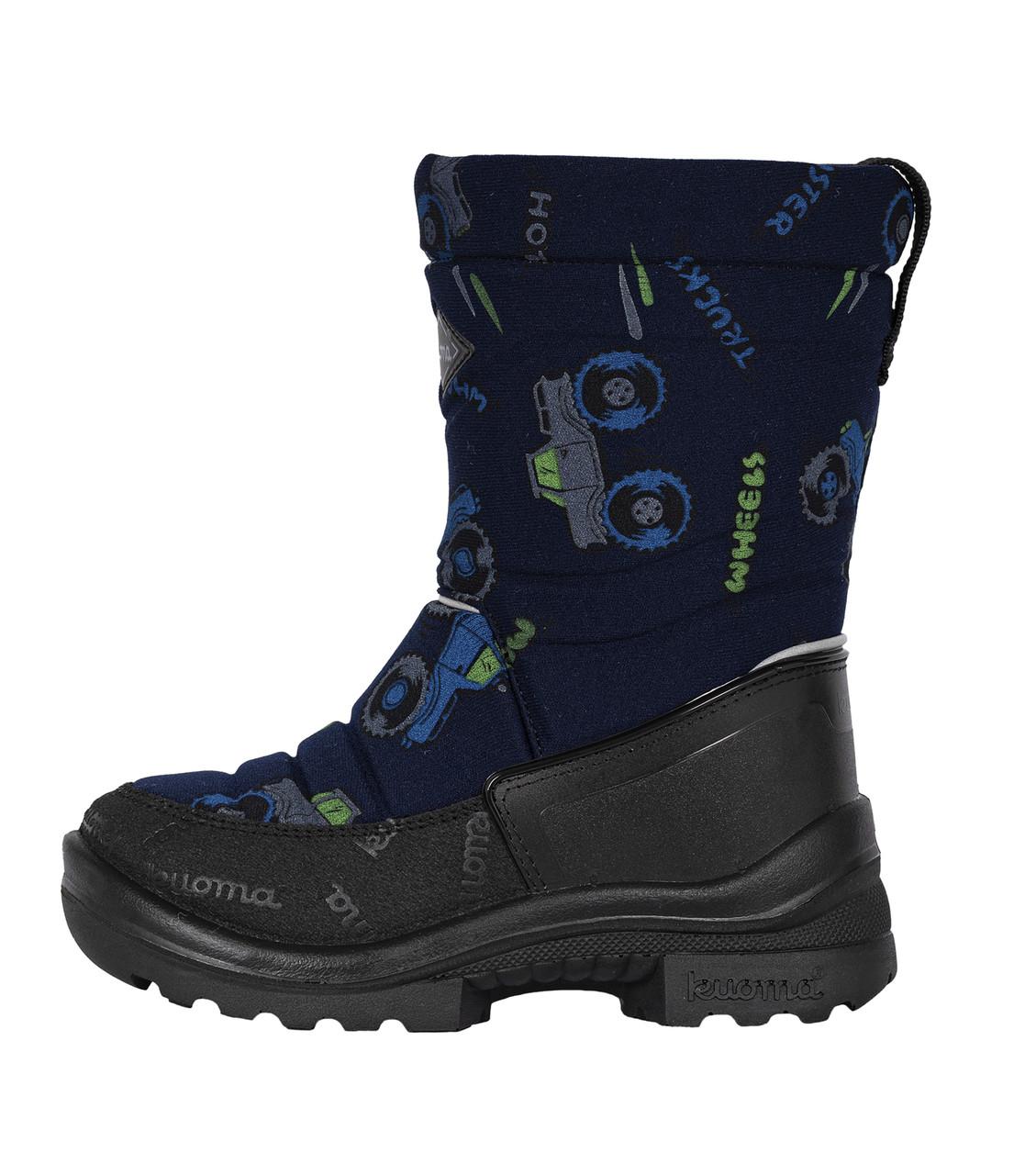 Обувь детская Kuoma  Putkivarsi wool Blue Monster