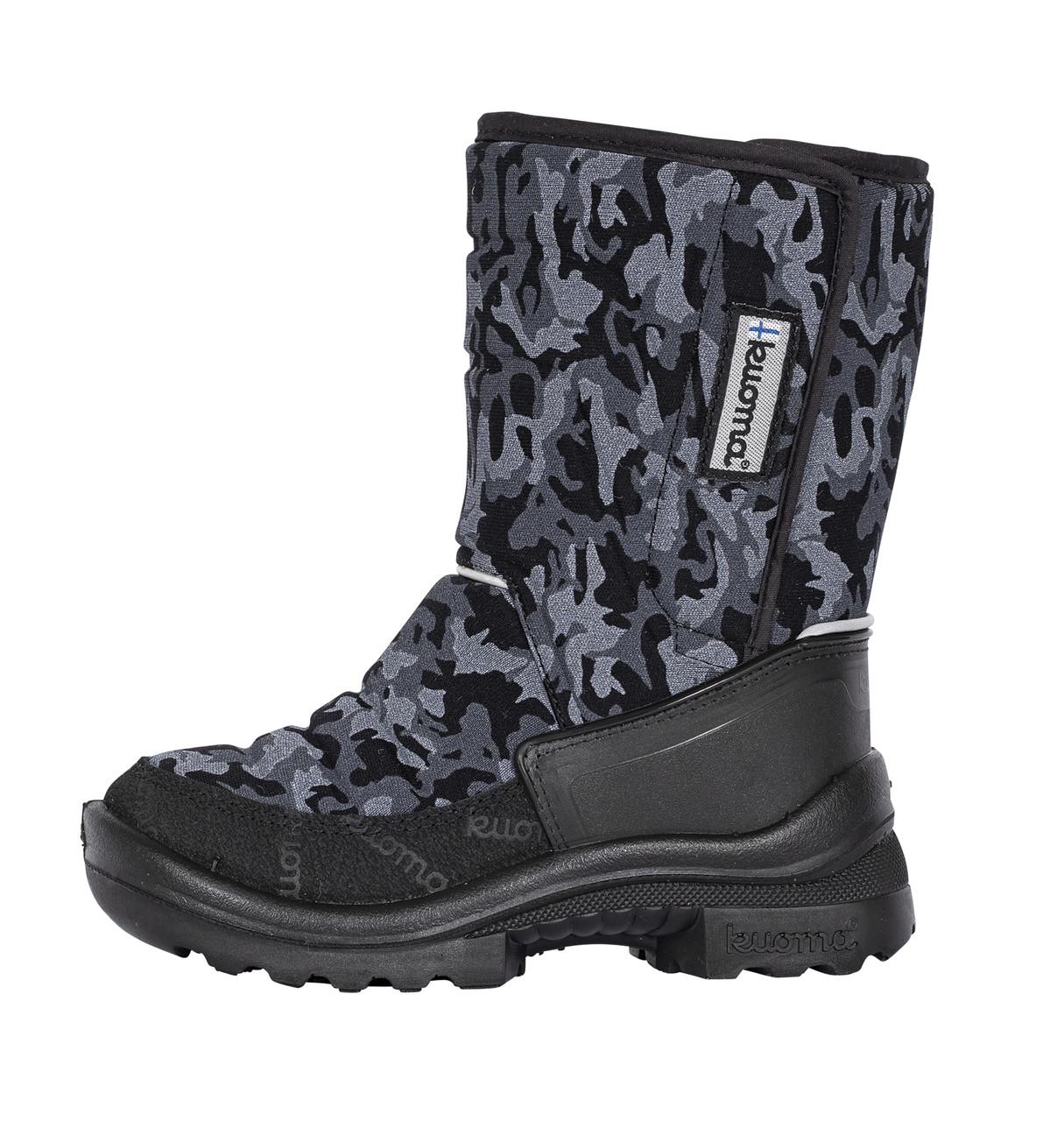 Обувь детская Kuoma Tarravarsi wool, Black Ghost