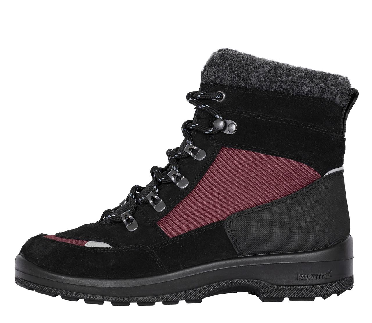 Обувь взрослая Kuoma Tuisku, Bordeaux/Black