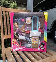 Набор кукла Барби салон красоты