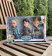 Набор из трёх кукол Холодное сердце