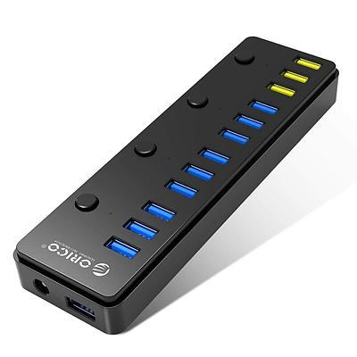 USB-хаб 12-port USB 3.0 Orico P12-U3, черный