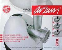 Мясорубка электрическая Arzum FIERCE AR-173 {1500W, Турция} с комплектом насадок