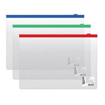 Папки-конверты на молнии