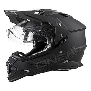 Шлем кроссовый со стеклом Sierra II FLAT, XXL