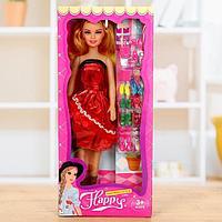 Кукла ростовая «Арина» в платье, высота 41 см, с аксессуарами, МИКС