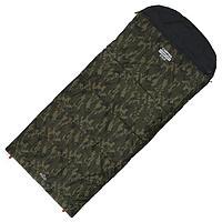 Спальник 4- слойный, L одеяло+подголовник 225 x 100 см, camping comfort cold, таффета/оксфорд, -15C