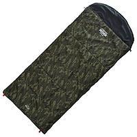 Спальник 4-слойный, R одеяло+подголовник 225 x 100 см, camping comfort cold, таффета/оксфорд, -15C