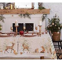 Набор столовый Этель 'Christmas forest' скатерть 150*220 +/-3см с ГМВО, салф.40х40см - 12шт,