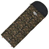 Спальник 4-слойный, L одеяло+подголовник 185 x 70 см, camping comfort cold, таффета/таффета, -15C