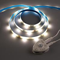 Комплект светодиодной ленты Uniel, 220В, SMD3528, 1.2 м, IP65, с аксесс., 30 LED/м, 4000К