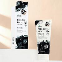 Маска-плёнка EKEL Peel-Off Pack Charcoal с экстрактом древесного угля, 180 г