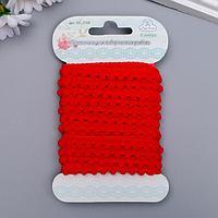 Ленточка для творческих работ «Рукоделие» 1 см х3 м, красный